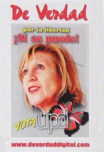 Nuevo Partido Comunista en España Rosa-cartel